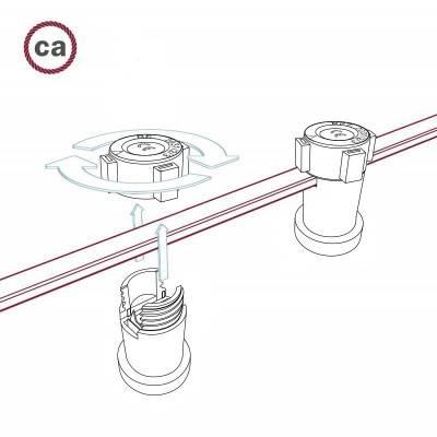 Bol G140 LED lichtbron Bumped Goud Spiraal filament 5W E27 Dimbaar 2000K