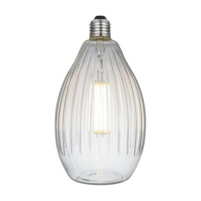 Eos LED-lichtbron Clear Crystal-Lijn 6W E27 Dimbaar 2700K