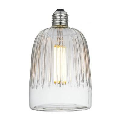 Tiche LED-lichtbron Clear Crystal-Lijn 6W E27 Dimbaar 2700K