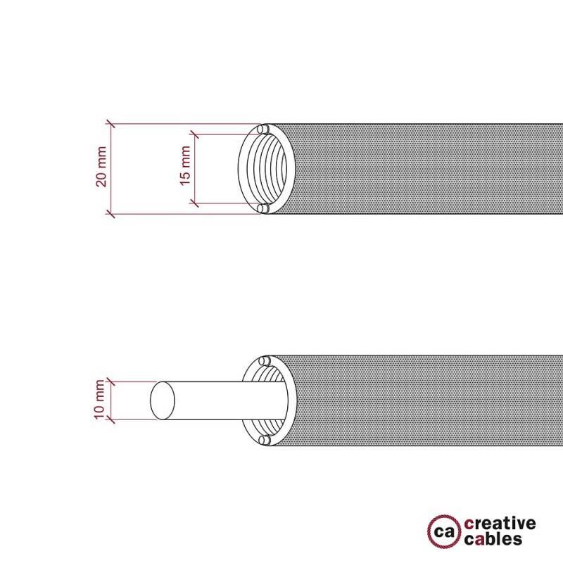 2-polige witte platte stekker 10A – IMQ