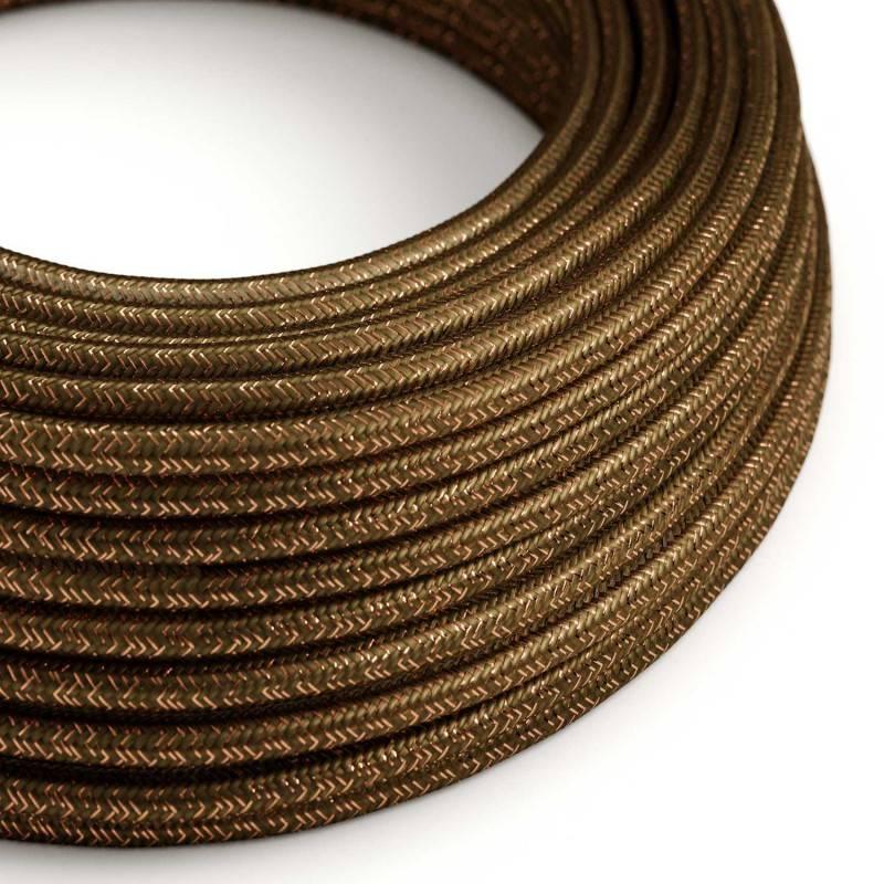 Metalen strijkijzersnoer verlichtingspendel E27 zwart katoen RC04