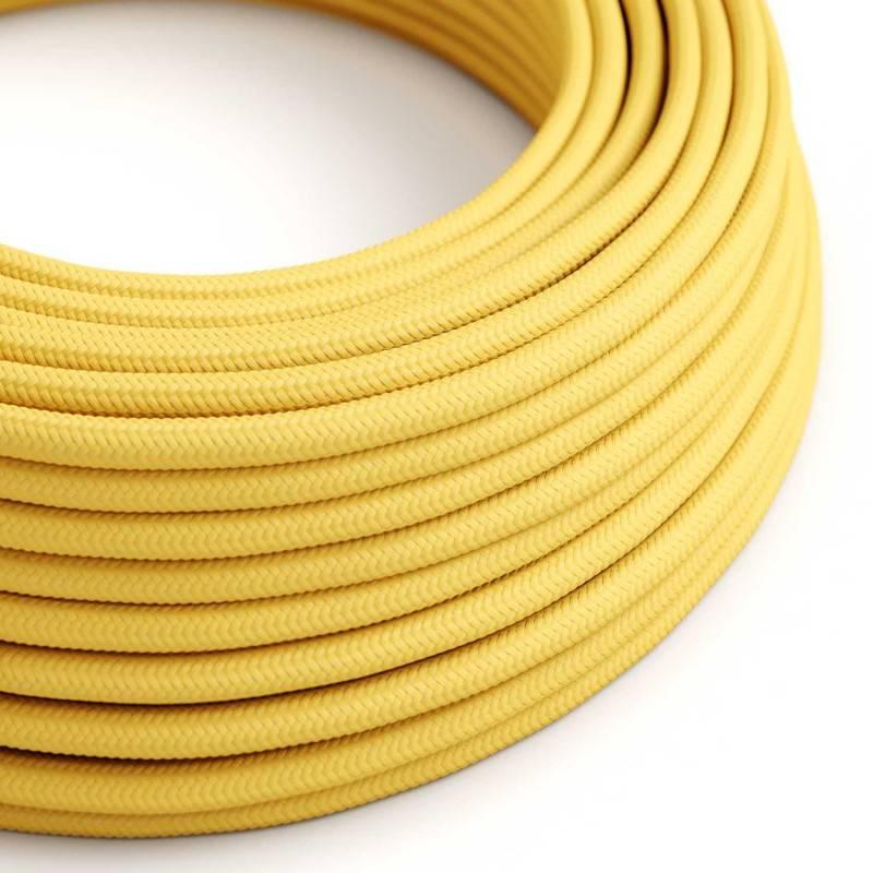 Metalen strijkijzersnoer verlichtingspendel E27 bruin viscose RM13