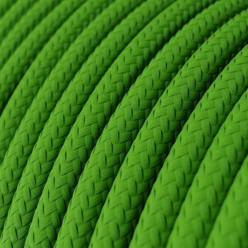Metalen strijkijzersnoer verlichtingspendel E27 paars viscose RM14