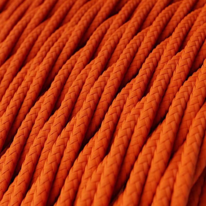 Metalen strijkijzersnoer verlichtingspendel E27 geel viscose RM10