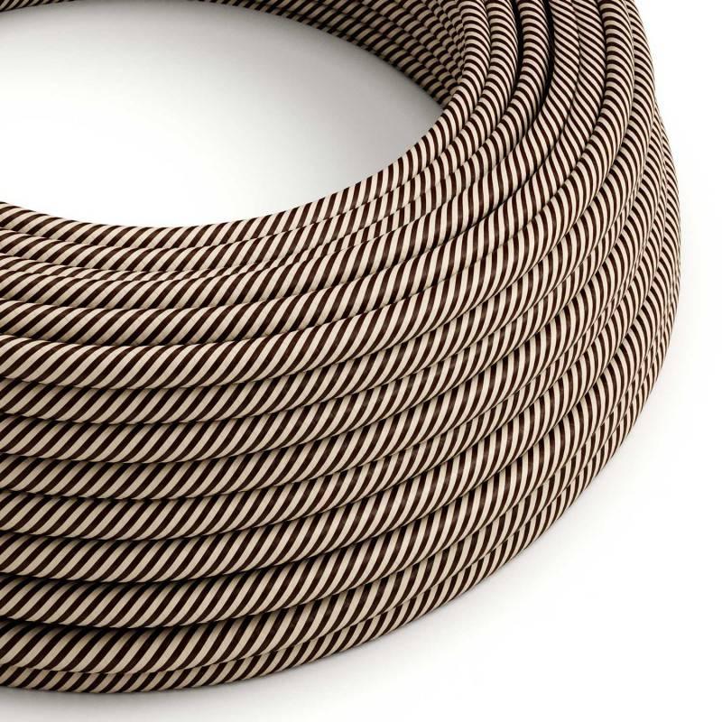 Metalen strijkijzersnoer verlichtingspendel E27 zilver viscose RM02