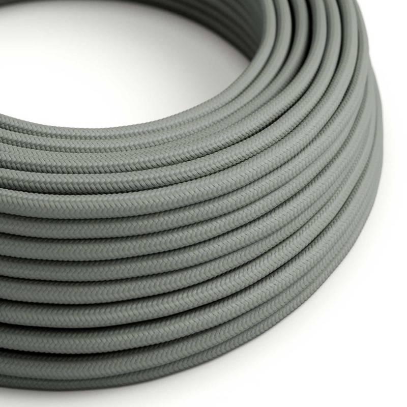 Metalen strijkijzersnoer verlichtingspendel E27 strepen motief bruin linnen en katoen RD53