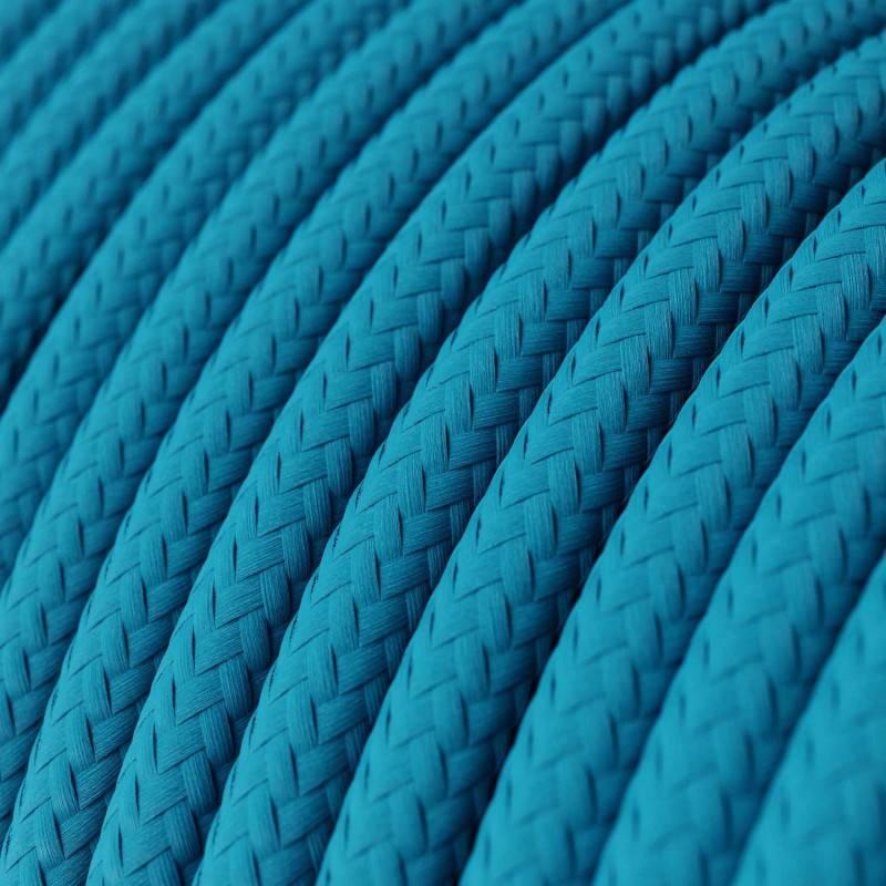 Metalen strijkijzersnoer verlichtingspendel E27 zigzag motief roze linnen en katoen RD71