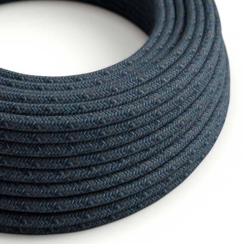 Metalen strijkijzersnoer verlichtingspendel E27 bordeauxrood linnen en katoen RS83
