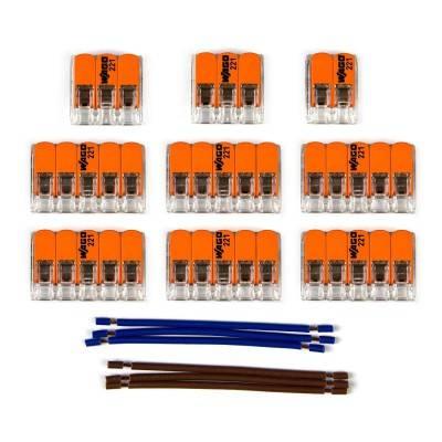 WAGO verbindingskit compatibel met 2x kabel voor 11-gaats Aansluitkap