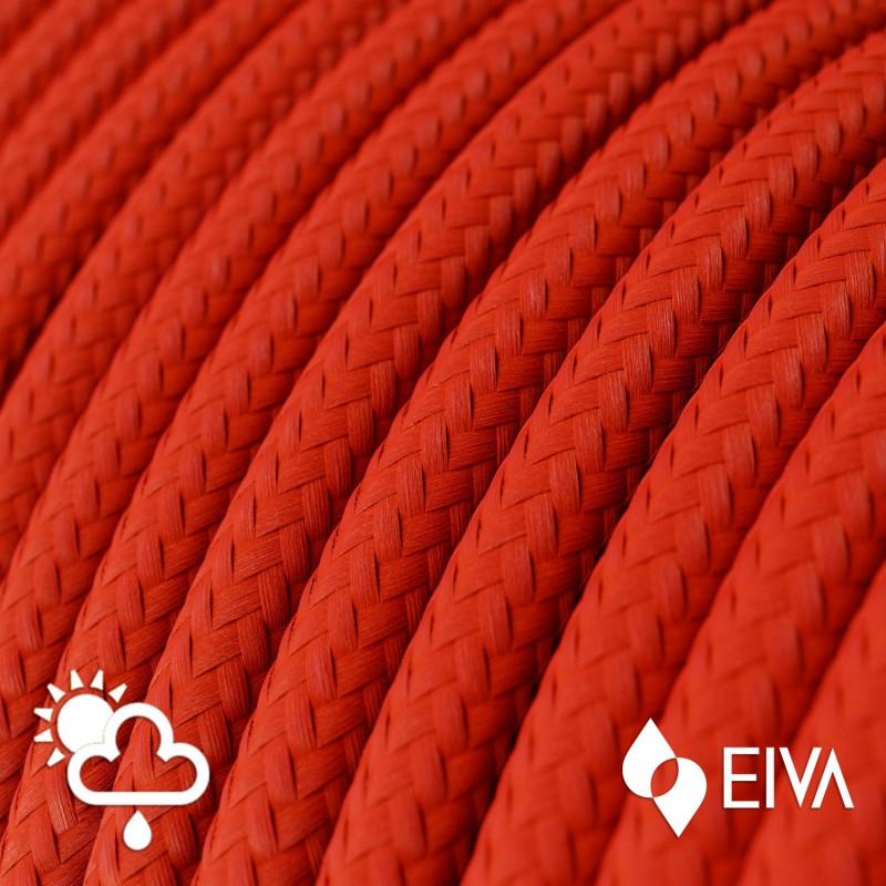 Metalen strijkijzersnoer verlichtingspendel E27 gevlochten wit katoen TC01