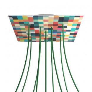 Pinocchio, verstelbare houten muurbeugel voor hanglampen